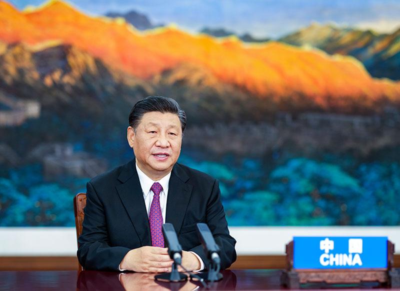 习近平出席亚太经合组织领导人非正式...