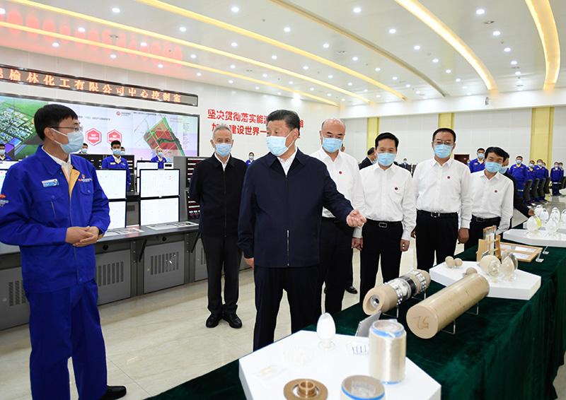 习近平在陕西榆林考察时强调:解放思...