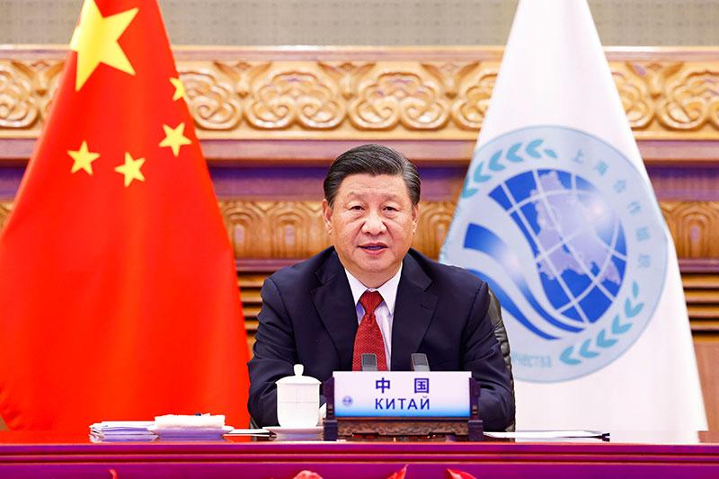 习近平出席上海合作组织成员国元首理...
