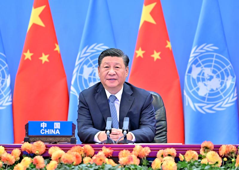 习近平出席第二届联合国全球可持续交...